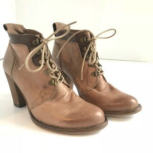 H by Hudson Sz Eu 38 Leather Ankle Bootie